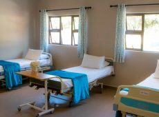 One of the wards at Frail Care Facility